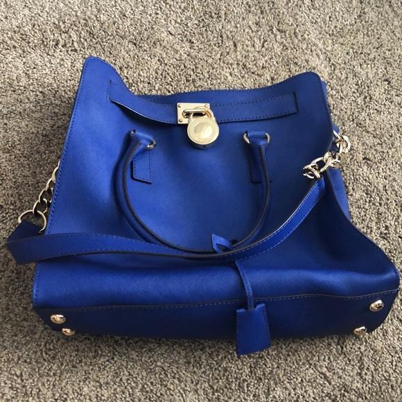 Michael Kors Handbags - Michael Kors Blue purse